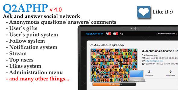 اسکریپت جامعه مجازی پرسش و پاسخ Q2APHP نسخه 4.1