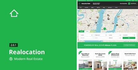 ایجاد وب سایت املاک اینترنتی با پوسته وردپرس Realocation نسخه 2.1.1