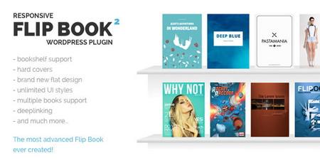 افزونه وردپرس ایجاد کتاب های الکترونیک Responsive FlipBook