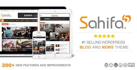 دانلود قالب صحیفه Sahifa فارسی نسخه 5.5.0 برای وردپرس