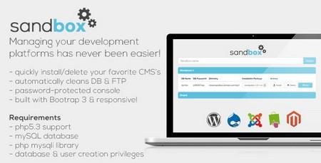 مدیریت و ویرایش CMS وب سایت ها با اسکریپت Sandbox
