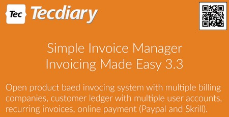 اسکریپت مدیریت فاکتور Simple Invoice Manager نسخه 3.3.1