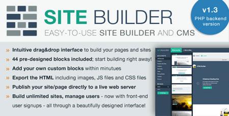 ساخت قالب سایت به صورت آنلاین با اسکریپت SiteBuilder Lite