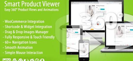 افزونه نمایش ۳۶۰ درجه محصولات ووکامرس Smart Product Viewer