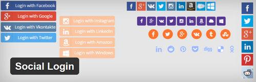 افزونه وردپرس ورود و عضویت از طریق شبکه اجتماعی