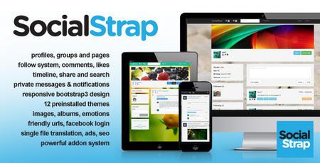 اسکریپت راه اندازی جامعه مجازی SocialStrap نسخه 4.3
