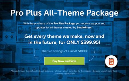 دانلود مجموعه قالب های اورجینال StudioPress