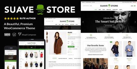 دانلود قالب فروشگاهی Suave نسخه 1.6.1 برای وردپرس