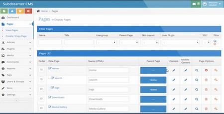 اسکریپت سیستم مدیریت محتوای Subdreamer CMS نسخه 3.7.1