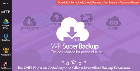 افزونه پشتیبان گیری از وردپرس Super Backup & Clone نسخه 2.2