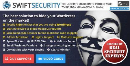 دانلود افزونه امنیتی و فایروال Swift Security Bundle برای وردپرس