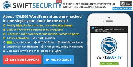 تامین امنیت وردپرس با افزونه Swift Security
