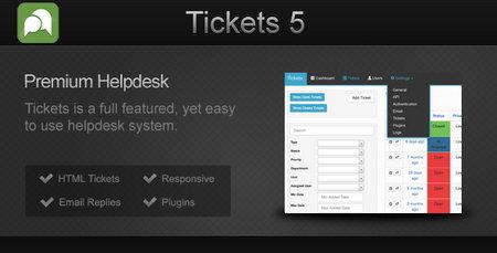اسکریپت حرفه ای پشتیبانی به صورت تیکتینگ Tickets