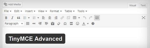 ادیتور حرفه ای برای وردپرس با افزونه TinyMCE Advanced
