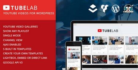 ایجاد سایت اشتراک گذاری ویدئو در وردپرس با افزونه TubeLab
