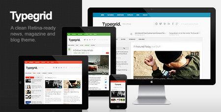 دانلود قالب فارسی Typegrid برای وردپرس