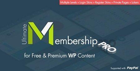 افزونه وردپرس عضویت ویژه Ultimate Membership Pro فارسی نسخه 2.6