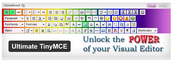 با افزونه Ultimate TinyMCE ویرایشگر وردپرس خود را حرفه ای کنید