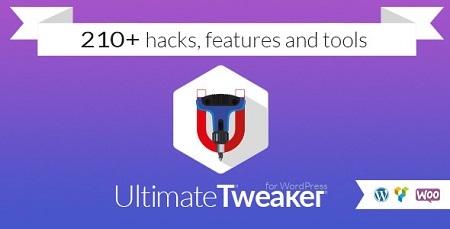 افزونه حرفه ای بهینه ساز وردپرس Ultimate Tweaker نسخه ۱٫۳٫۶