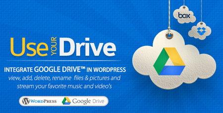 افزونه مدیریت فایل های گوگل درایو در وردپرس با Use your Drive