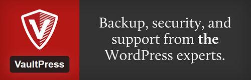 افزونه بک آپ گیری VaultPress برای وردپرس