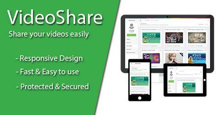 اسکریپت اشتراک گذاری ویدئو VideoShare