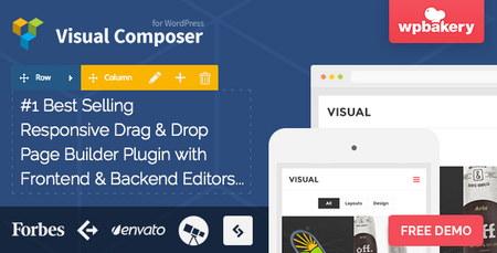 دانلود افزونه وردپرس صفحه ساز ویژوال کامپوسر Visual Composer نسخه 4.8.1