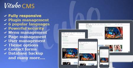 اسکریپت مدیریت محتوا Vitubo CMS نسخه 2.3