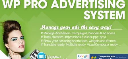 افزونه مدیریت حرفه ای تبلیغات WP Pro Ad System v4.1.2 برای وردپرس