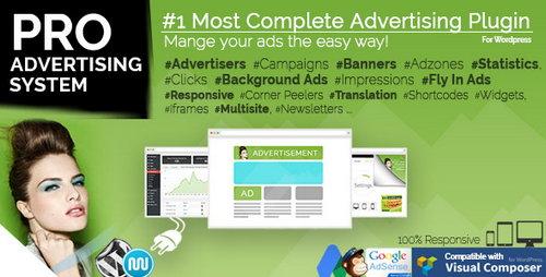 افزونه مدیریت تبلیغات در وردپرس WP PRO Advertising System نسخه 5.3.1