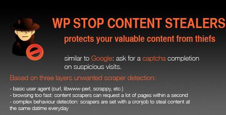 جلوگیری از سرقت محتوا در وردپرس با Stop Content Stealers