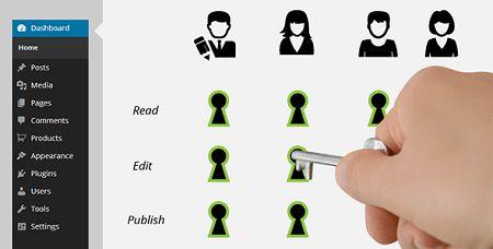 افزونه وردپرس کنترل دسترسی کاربران Types Access نسخه ۱٫۲٫۷٫۵