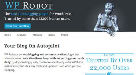 افزونه ارسال اتوماتیک مطلب WP Robot نسخه 4.10
