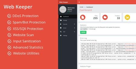 اسکریپت بهینه ساز و حفظ امنیت وب سایت Web Keeper