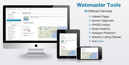 اسکریپت ابزار وبمستر Webmaster Tools نسخه 1.9