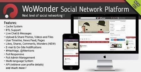 اسکریپت راه اندازی جامعه مجازی WoWonder نسخه 1.1