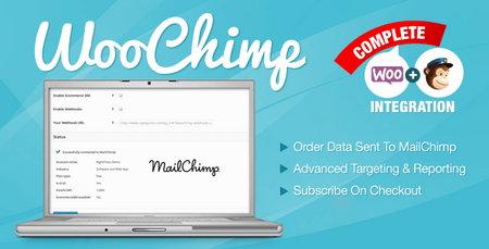 سرویس بازاریابی MailChimp برای ووکامرس با افزونه WooChimp