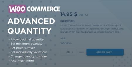افزونه ایجاد محدودیت در تعداد خرید محصولات ووکامرس WooCommerce Advanced Quantity