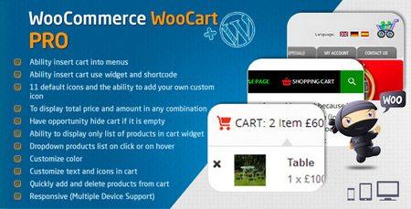 افزونه سبد خرید پیشرفته ووکامرس WooCart Pro نسخه 2.5.1