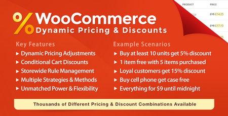 افزونه تخفیف ووکامرس Dynamic Pricing & Discounts نسخه 2.2.2