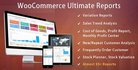افزونه گزارش گیری ووکامرس WooCommerce Ultimate Reports