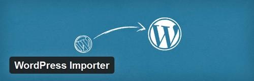 افزونه درون ریزی در وردپرس WordPress Importer