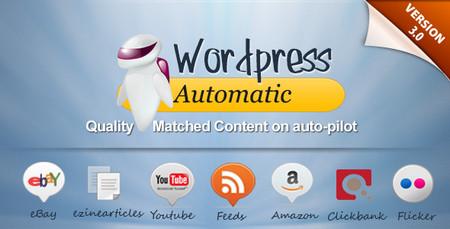 افزونه ارسال مطالب اتوماتیک WordPress Automatic Plugin v3.6