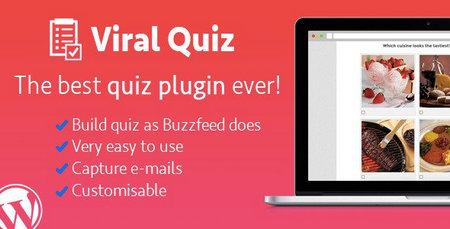 افزونه امتحان ساز تصویری Viral Quiz برای وردپرس