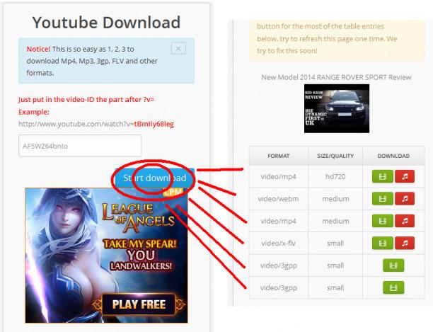 اسکریپت دانلود ویدئو از یوتیوب Youtube Convert Save
