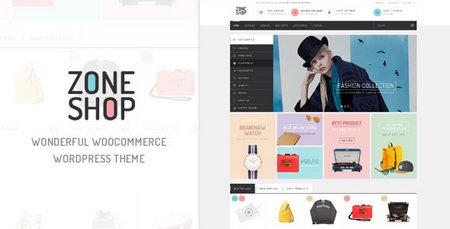 دانلود قالب فروشگاهی ZoneShop فارسی برای وردپرس