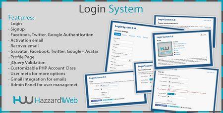 اسکریپت مدیریت کاربران Account System Multi Feature