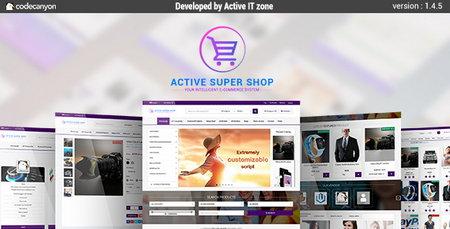 اسکریپت فروشگاه ساز حرفه ای Active Super Shop نسخه 1.4.5