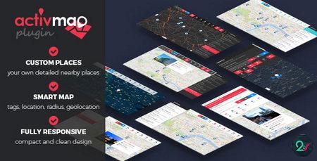 اسکریپت نمایش نقشه خدمات و مراکز تحت پوشش شهری ActivMap