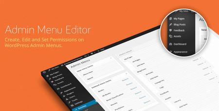 افزونه تغییر رابط کاربری مدیریت وردپرس Admin Menu Editor Pro نسخه 2.8.2